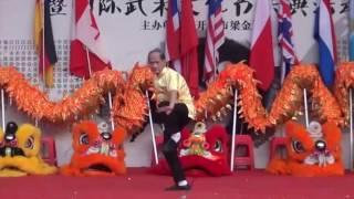 Great Grandmaster - Wong Gong - Choy Li Fut Dragon Tiger Form -  2016