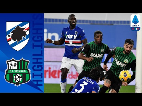Sampdoria Sassuolo Goals And Highlights
