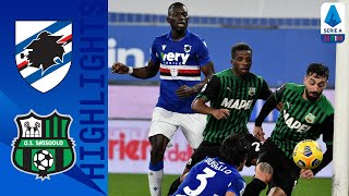 Sampdoria 2-3 Sassuolo | Caputo finds the net in a 3-2 thriller away to Sampdoria | Serie A TIM