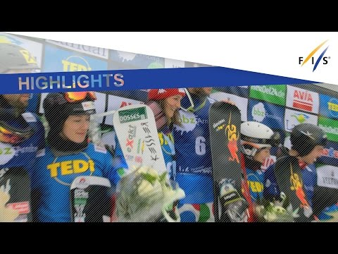 Highlights   Ochner and March ring down the curtain in Team PSL at Winterberg   FIS Snowboard