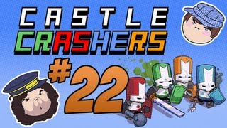 Castle Crashers: The Necromancer - PART 22 - Steam Train