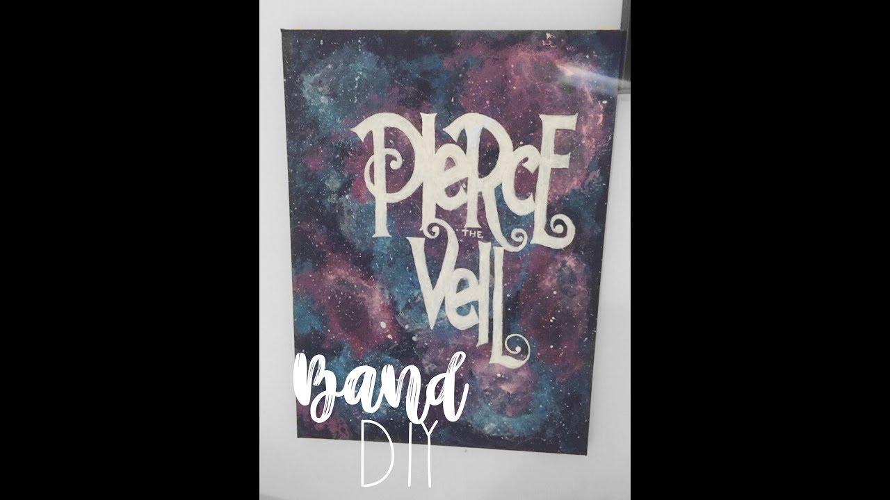 Diy pierce the veil room decor youtube for Band bedroom ideas
