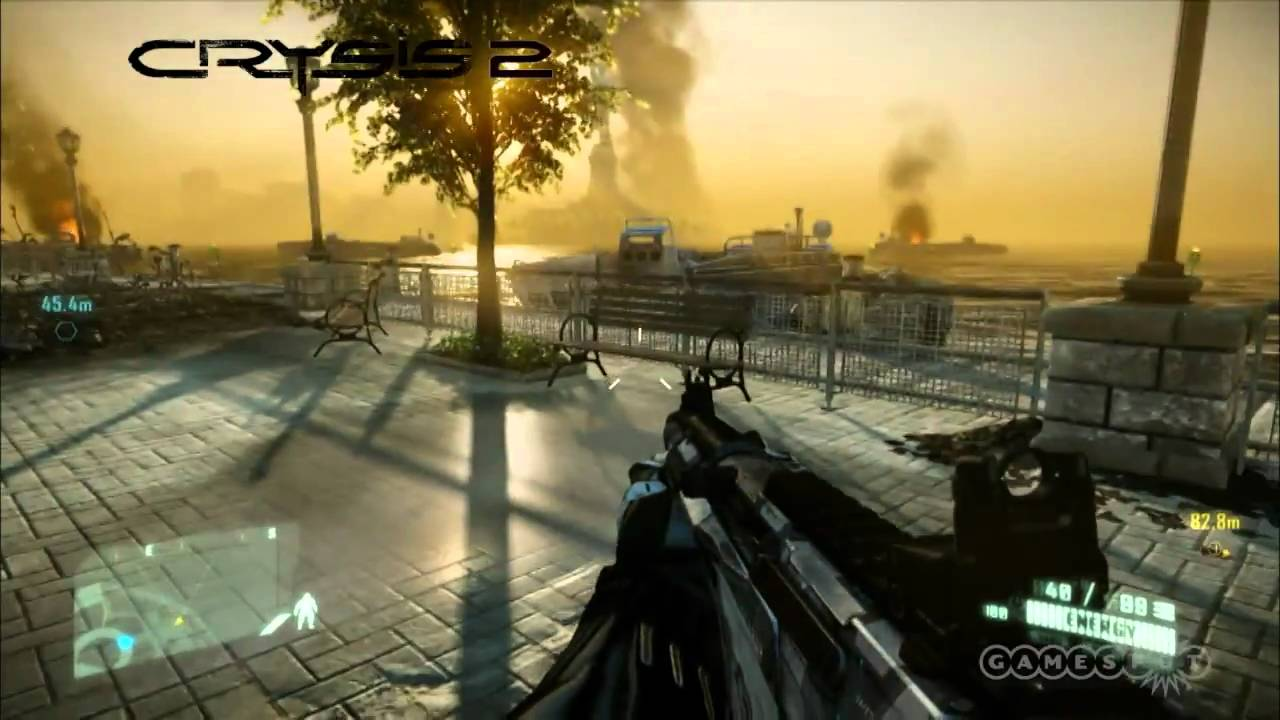 Crysis 2 Graphics Comparison (PC) - YouTube