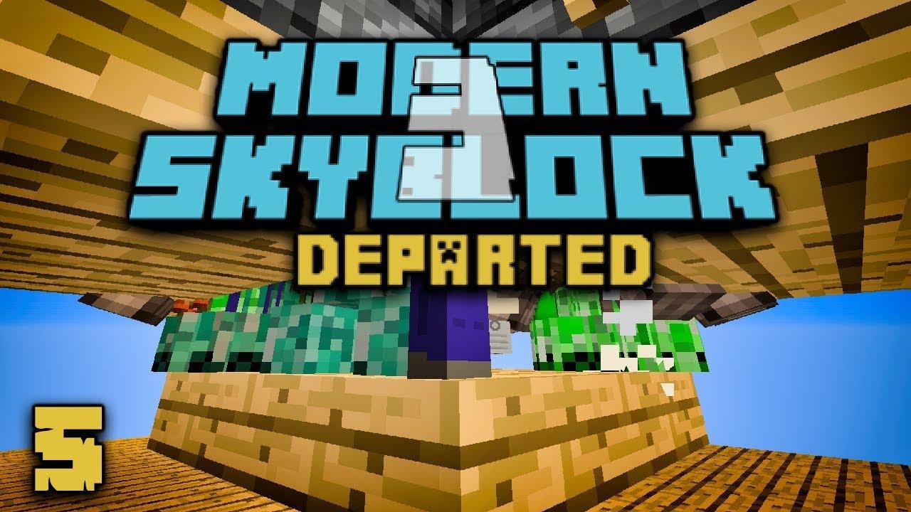 Modern Skyblock 3: Departed EP5 Mob Spawner + Cleaning Dirty Gems