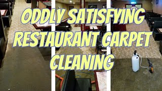 Cleaning FILTHY Restaurant Carpet