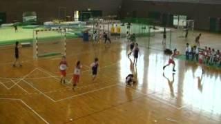 20110501福大ハンド女子、春季大会、沖縄国際大学.wmv