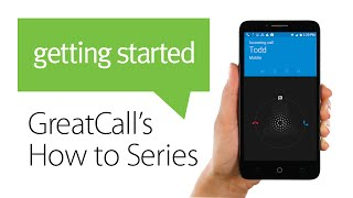 How to Receive a Phone Call - Jitterbug Smart