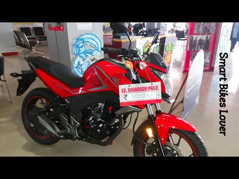 Hornet 160R sports RED 2017 Edition Actual look