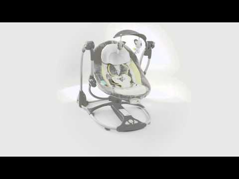 360º View of Ingenuity's ConvertMe Swing-2-Seat – Brighton