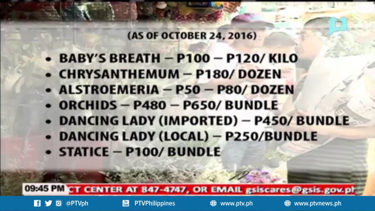 Flower Prices In Dangwa Le