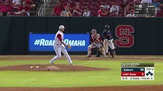 Auburn Baseball vs NC State NCAA Regional Highlights