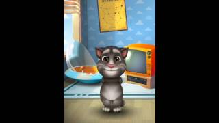 [My Talking Tom] Tom the cat is hungry yum yum