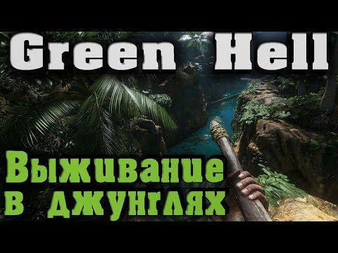 Как выжить в джунглях? Реализм - Green Hell - Ад Амазонки