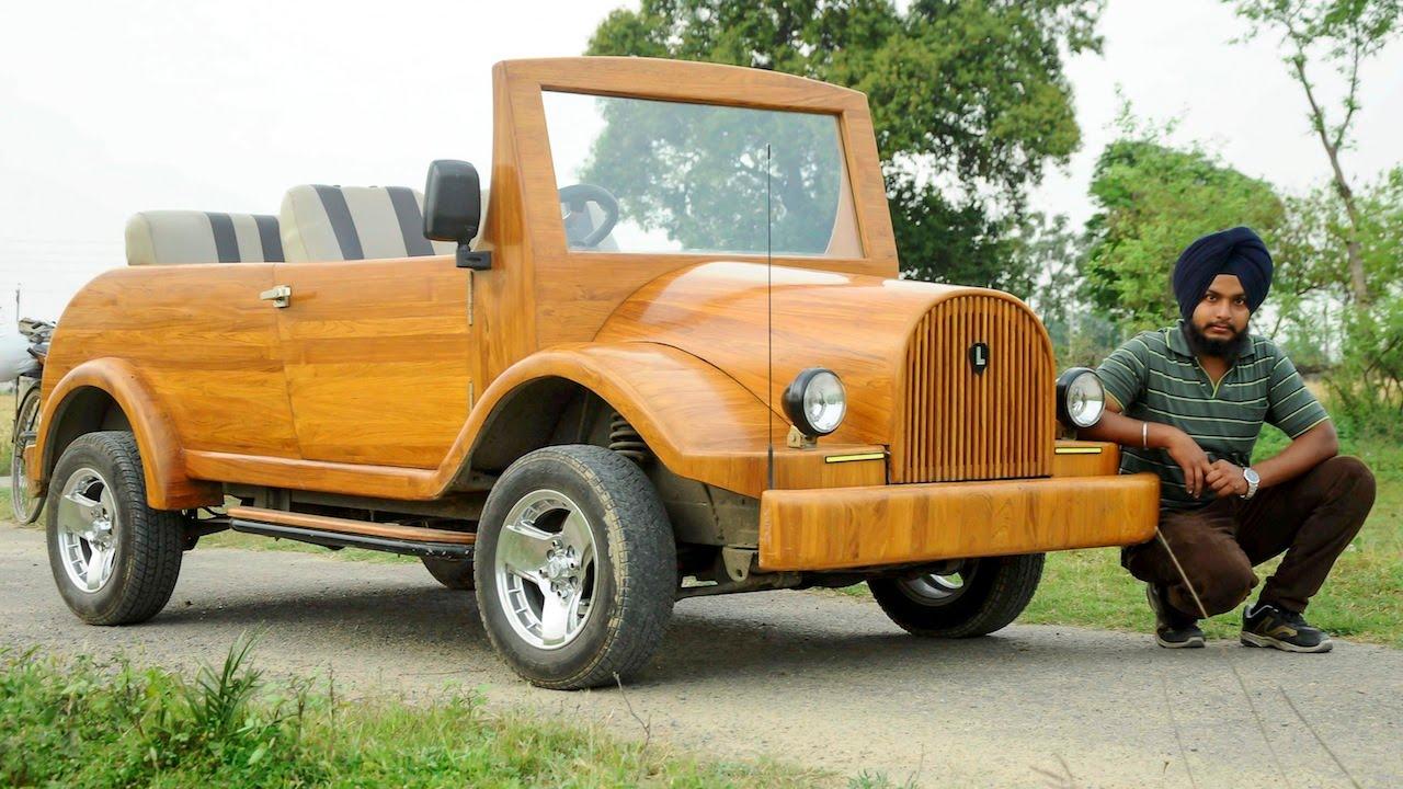 Chop Gear Carpenter Builds Wooden Street Legal Car