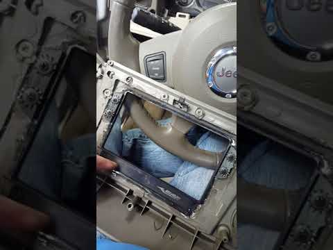 Jeep Commander Double Din Install Tip Kit Sony Metra