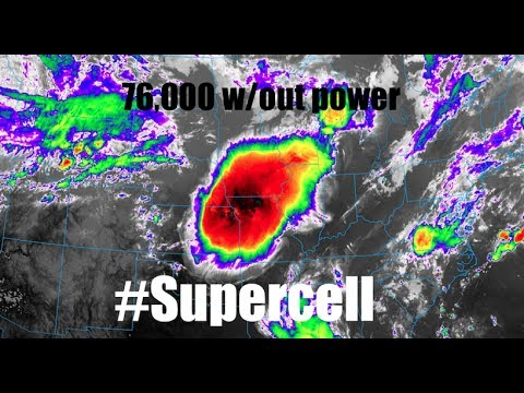 #Supercell leaves 76000 without power | S Omaha