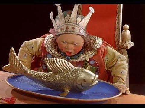 Сказка о рыбаке и рыбке 1937 ЦВЕТНОЙ (Сказка о золотой рыбке)