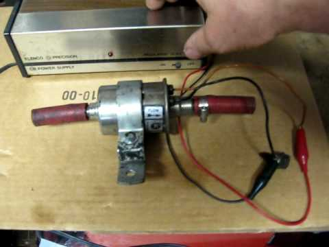 Testing 12V Fuel Pump - YouTube