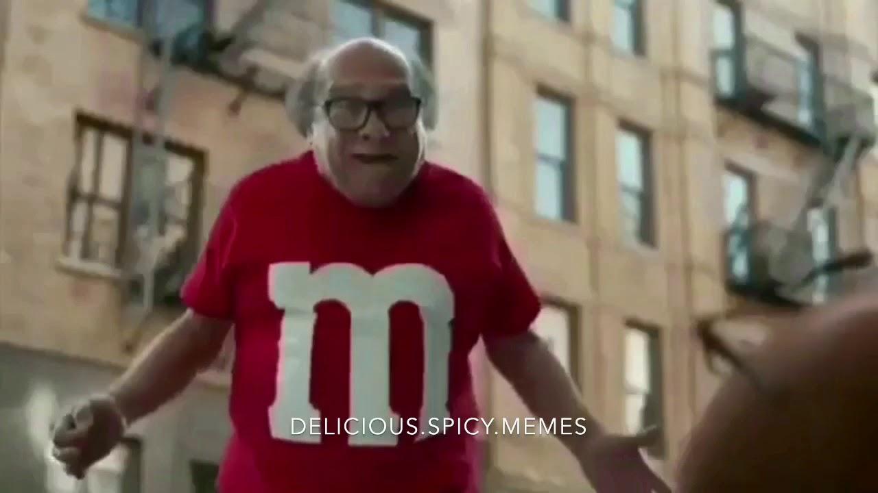 Danny DeVito gets hit by car Meme - YouTube