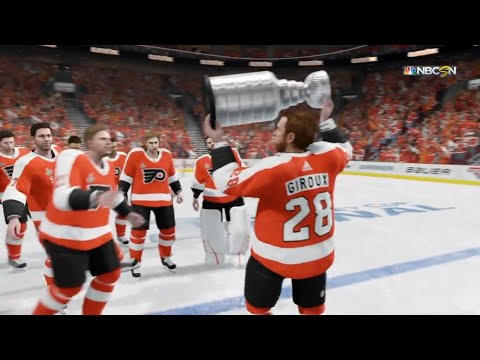NHL 18 - Philadelphia Flyers Stanley Cup Celebration (New)