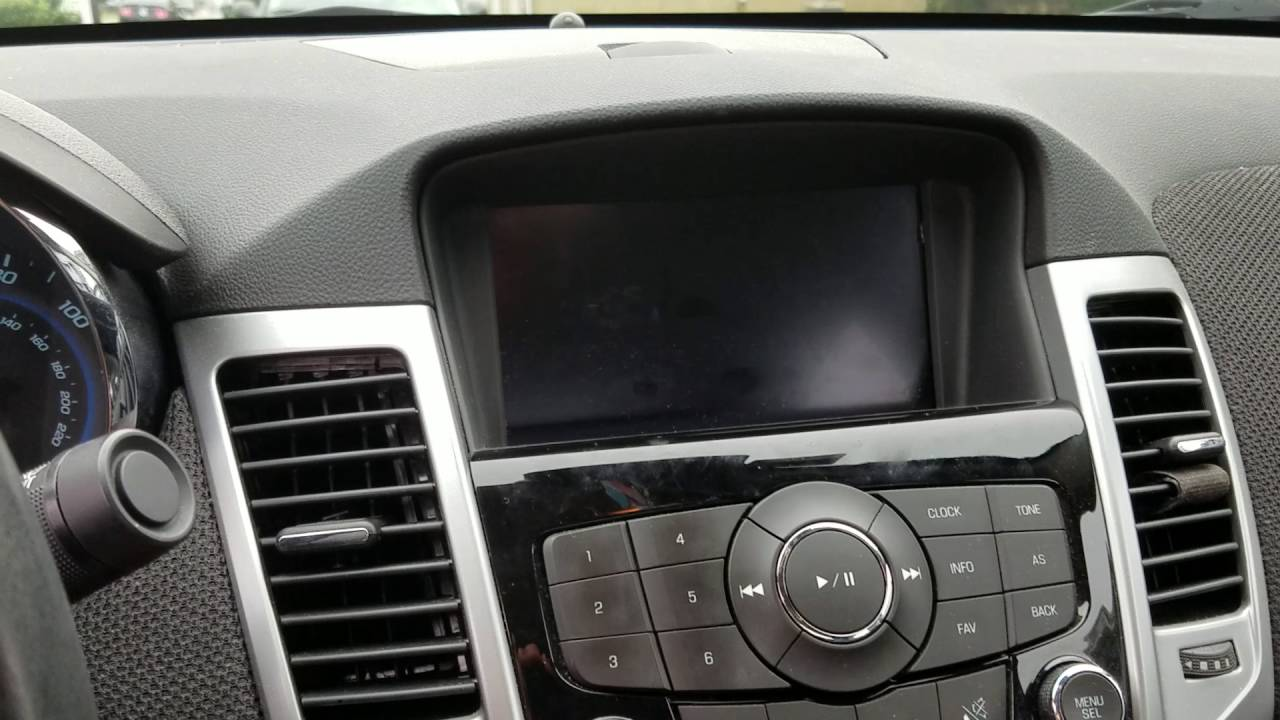 small resolution of solved chevy cruze gm black screen no display radio mylink turn signal fix youtube