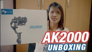 UNBOXING: FEIYUTECH NEWEST GIMBAL AK2000