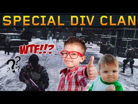 Multi-Grouping Kid Clan Trash Talking (The Division 1.8.3)