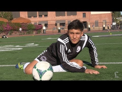 Axel Mendez Is Soccer Standout At L.A. Cathedral