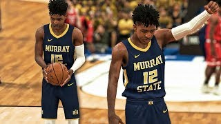 NBA 2K19 Ja Morant My Career Ep. 1 - NCAA TOURNAMENT FIRST ROUND