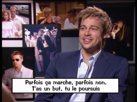 Interview de Brad Pitt par R. Mezrahi, Titoff, Le sac à sapin - On a tout essayé - 18/12/2001