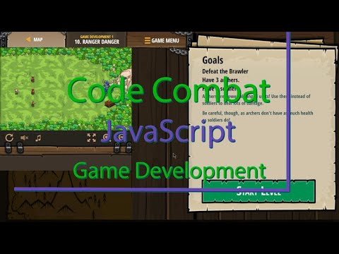 CodeCombat Ranger Danger Level 10 Game Development Tutorial with Answers in JavaScript thumbnail