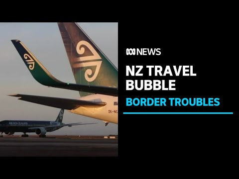 Passengers from New Zealand caught connecting flight to Melbourne | ABC News
