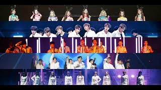 Who has the best concert opening? (EXO, BTS, GOT7, TWICE, SNSD)
