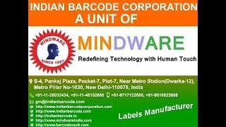 indian barcode corporation training for tsc printers