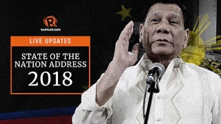 LIVE: Duterte's 3rd State of the Nation Address, 23 July 2018