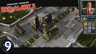 Let's Play! C&C: Red Alert 3! Episode 9: The Moon Shall Not Have Them!!