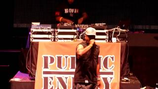 Public Enemy performing Fight The Power @ Kings of the Mic @ Shoreline Amphitheatre on 5/25/2013