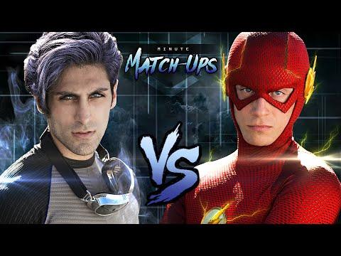 THE FLASH vs QUICKSILVER - Minute Match-Ups: Episode 3