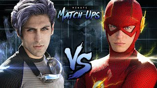 THE FLASH vs QUICKSILVER - Minute Match-Ups Episode 3