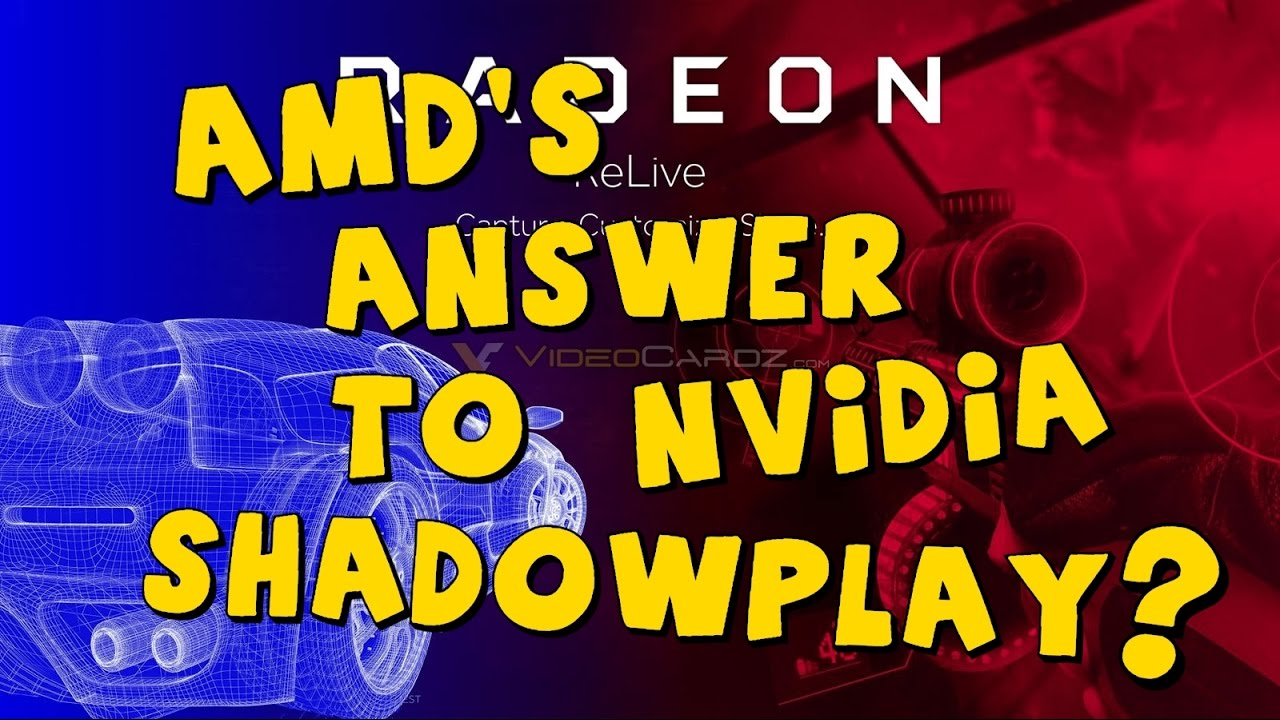 AMD's Answer to Shadowplay? (AMD Crimson ReLive Review/Opinions)