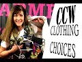 CCW Clothing Choices | Dress for success when carrying a firearm