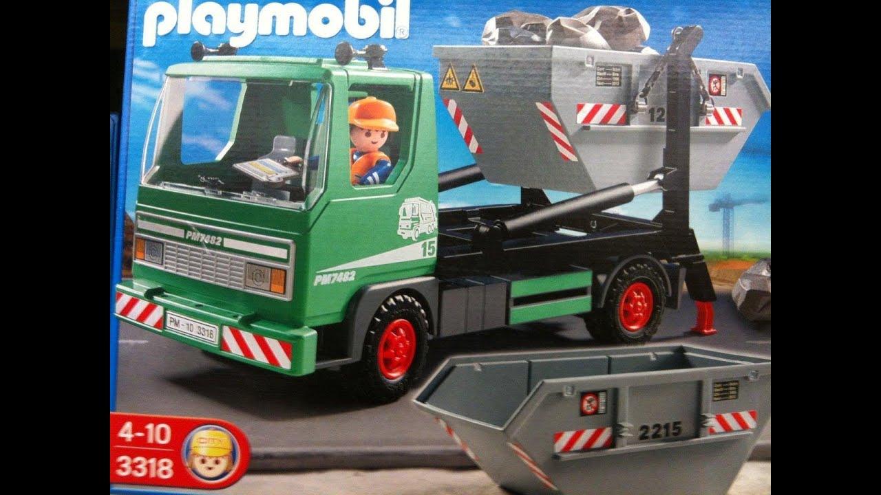 Playmobil camion youtube - Playmobil camion chantier ...