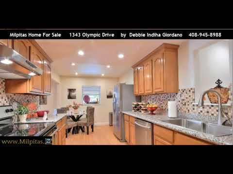 Milpitas Home For Sale | 1343 Olympic Drive (SOLD)