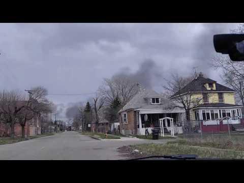 Drive through Detriot Michigan 2016 (Official)