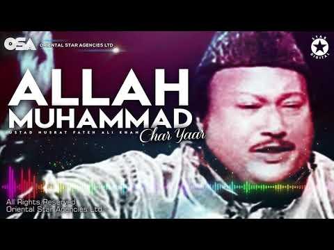 Allah Muhammad Char Yaar  Nusrat Fateh Ali Khan  Complete Full Version  Osa Worldwide