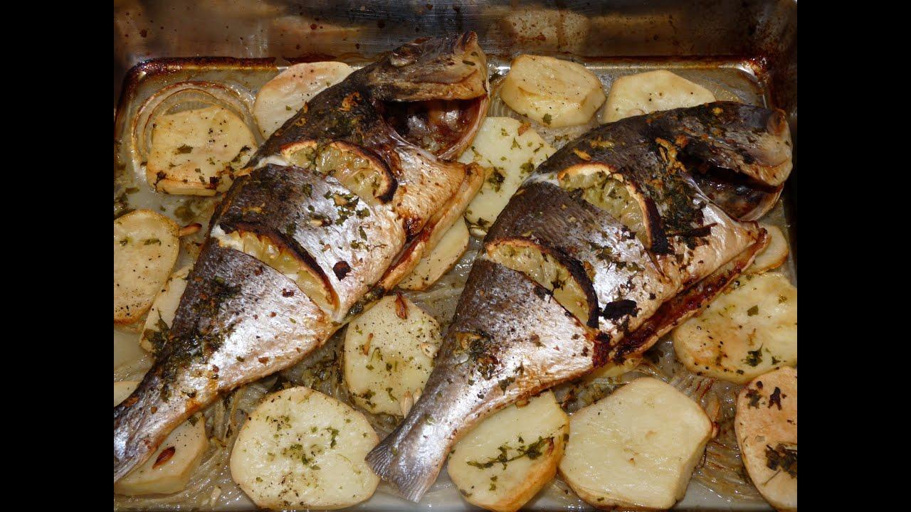 Cocina fcil  Dorada al horno  Baked fish  YouTube
