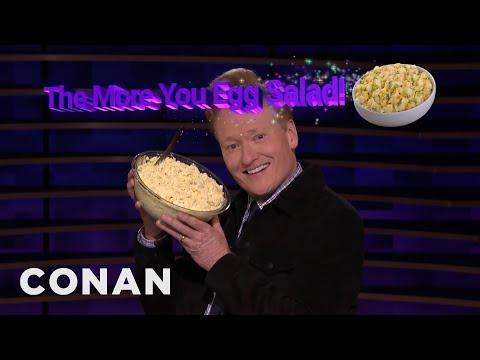 A Public Service Announcement About Egg Salad - CONAN on TBS