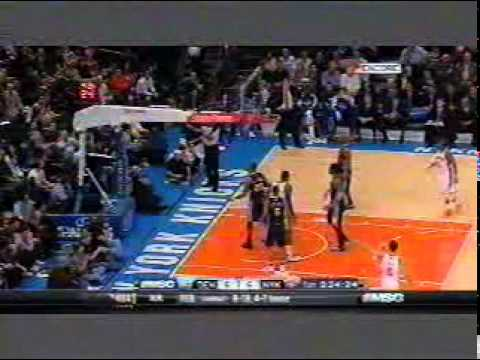 Knicks vs Nuggets: 12/12/10, part 1