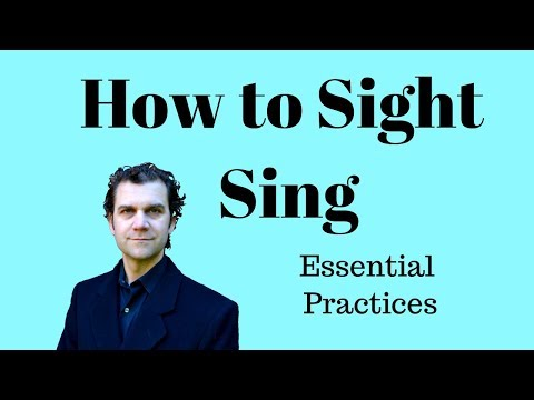 How to Sight Sing - How to Sight Read Music - A Quick Tip Video