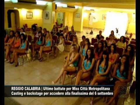 CN24   REGGIO CALABRIA   Ultime battute per Miss Città Metropolitana